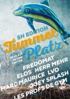 DJs Herr Mehr b2b Fredomat, Elos, L-V-O b2b Joey Splash, Schwendix, Marc Maurice, Les Profs de Gym