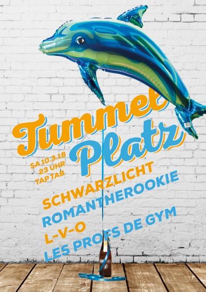 DJs Schwarzlicht, romantherookie, L-V-O, Les Profs de Gym