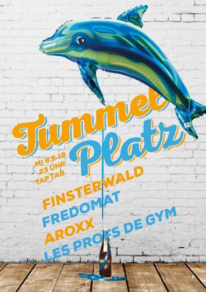 DJs Finsterwald, Fredomat, AroXx, Les Profs de Gym