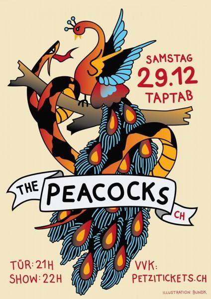 The Peacocks (CH), DJ Fancy Fingers